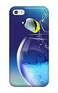 New SeanSmith Super Strong Free Phone Tpu Case Cover For Iphone 5/5s