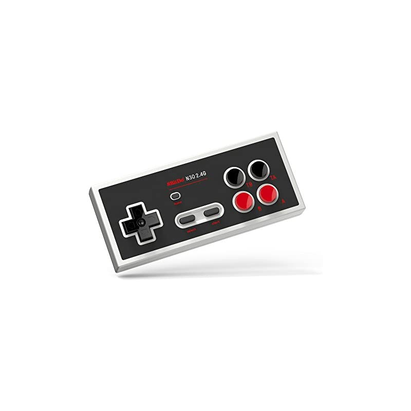 8Bitdo N30 2 4G Wireless Gamepad for NES Classic Edition - NES