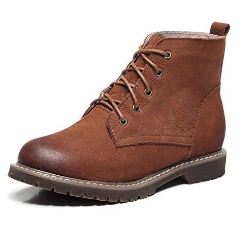 Stil Schuhe Handgefertigte Retro Winter Martin Womens College Boots Herbst DANDANJIE Swz8xPU