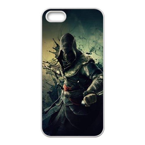 Ezio Auditore Da Firenze 001 coque iPhone 4 4S Housse Blanc téléphone portable couverture de cas coque EOKXLLNCD15900