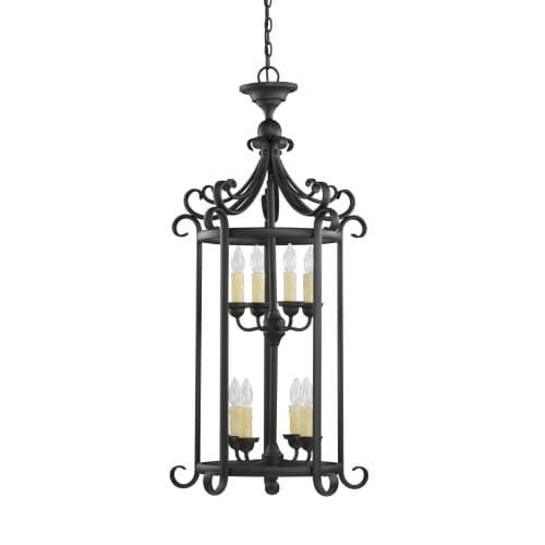 Sea Gull 51121EN-820 Del Prato Pendant, 8-Light 28 Total Watts, Chestnut Bronze - 28 Sea Gull Lighting