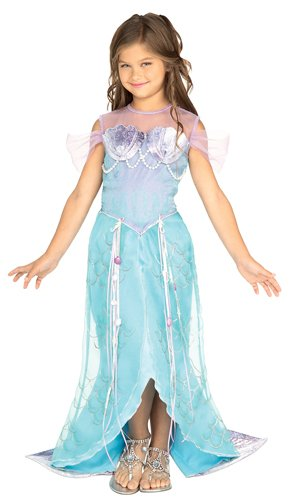 [Let's Pretend Child's Deluxe Mermaid Costume, Small] (Halloween Ideas For Couples)