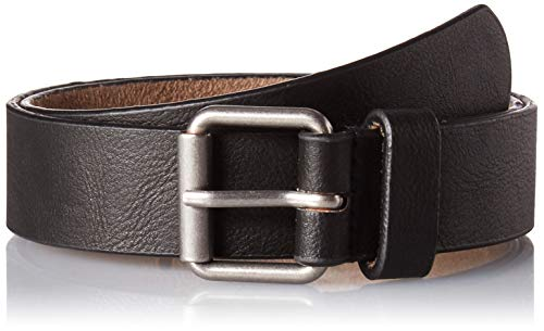 Toddler Boys Black Adjustable Faux Leather Belt, 2-5 years