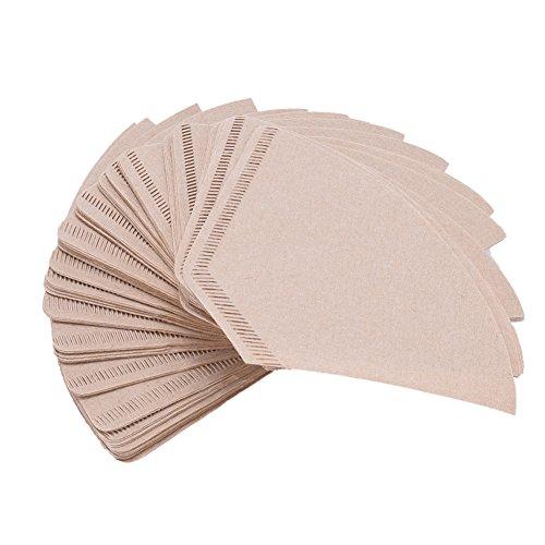 Set de filtros de papel para café, color marrón, profesionales ...