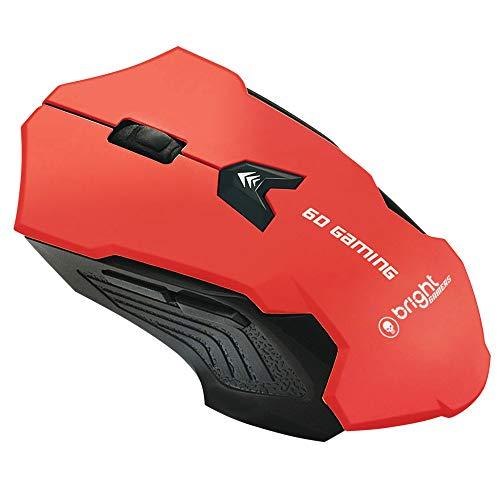 Mouse Gamer 461 2400 DPI Vermelho - Bright