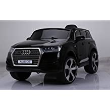 LICENSED AUDI Q7 STYLE RIDE ON CAR, WITH REMOTE CONTROL. 12V BATTERY, BLACK
