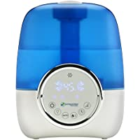 PureGuardian H1250 Ultrasonic Cool Mist Humidifier (White/Blue)
