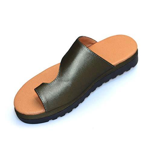ZDUM 2019 New Ladies Shoes, Fashion Comfy Platform Sandal Summer Beach Comfortable Women Shoes in Home Travel (36, Black)