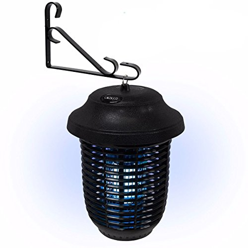 Cirocco Insect Bug Zapper Lamp UV Light – Electric Fly Mosquito Killer Trap | 6000 Sqft. Area Heavy Duty 40W Easy Clean | For Indoor Outdoor Apartment Hotel Home Restaurant Shop Factory Warehouse Moth by Cirocco