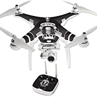 Skin For DJI Phantom 3 Professional – Drummers | MightySkins Protective, Durable, and Unique Vinyl Decal wrap cover | Easy To Apply, Remove, and Change Styles | Made in the USA