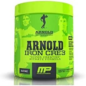 musclep Harm Arnold Negra Egger Iron cre3 125 g: Amazon.es ...