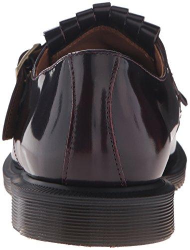 Ellaria Frange Dr Martens Scarpe Scarpa Red D1670 Donna Bordeaux Shoe Woman IYCwHgqC