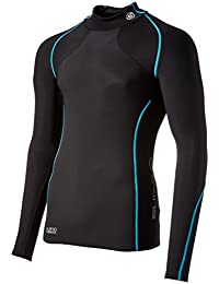Men's A200 Thermal Long Sleeve Compression Top With Mock Neck