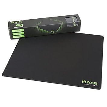 iKross G73 Almohadilla de ratón, base de goma antideslizante, Optimizado para los jugadores de