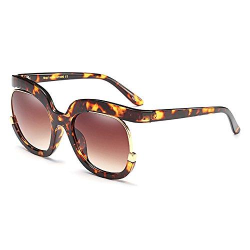 G Sol de Diseño de Mujeres cuadradas Burenqi C Marca Nuevo Degradado UV400 Gafas Bastidor Gafas de Gafas Unisex de Sol Moda Hombres Grande fqwxBPt4