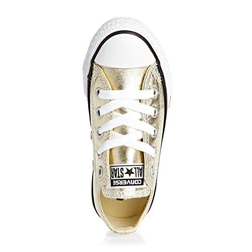 Converse  All Star Ox Canvas - B2,  Unisex-Erwachsene Gymnastikschuhe Light Gol/ White