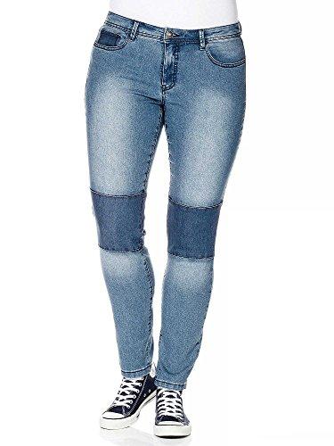 sheego Denim Vaqueros de pitillo tallas grandes nueva colección Mujer Azul