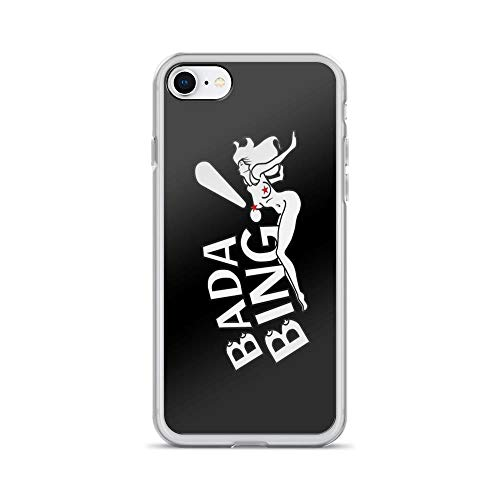 iPhone 7 Case iPhone 8 Case Clear Anti-Scratch Bada Bing!, aguvagu Motivational Cover Phone Cases for iPhone 7/iPhone 8, Crystal Clear]()