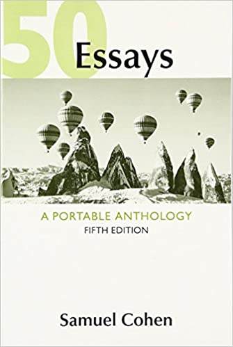 Amazon com 50 essays a portable anthology 9781319043728 samuel