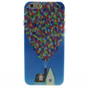 WQQ Balloon Hut Pattern Hard Case for iPhone 6