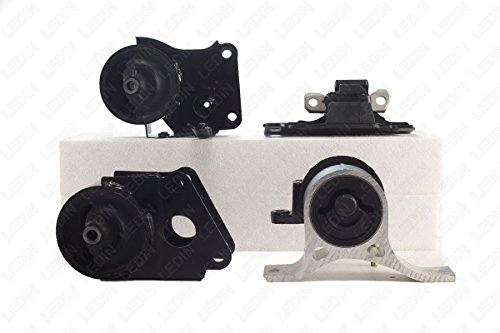 LEDIN OEM Replacement Engine Motor Transmission Mount SET (4 pieces) for Nissan Altima Maxima Murano Quest 3.5L A7349 A7358 A7348 A7351