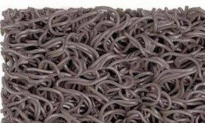 Importacion - METRO LINEAL de felpudo de rizos con base 1,22 m de ancho, color gris