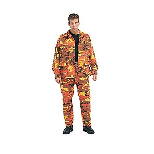 Orange Camo Pants - 2