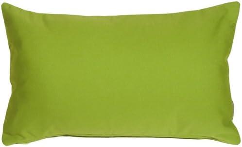 PILLOW D COR Sunbrella Macaw Green 12×19 Outdoor Pillow