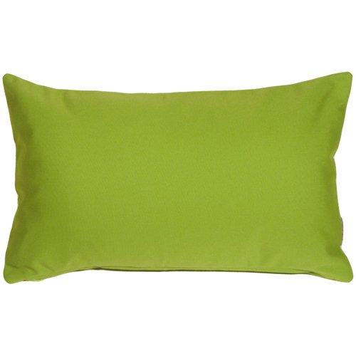 - PILLOW DÉCOR Sunbrella Macaw Green 12x19 Outdoor Pillow