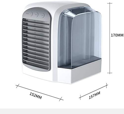Color : Pink XIAOF-FEN Mini Air Cooler Summer Air Cooling Fan Portable USB Home Bedroom Office Fan USB Fan