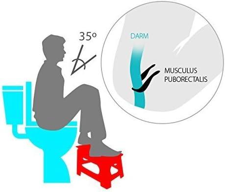 INTERINNOV Sgabello FISIOLOGICO per WC
