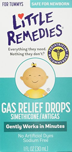 Little Remedies Gas Relief Drops for Newborns, Infants & Children, Berry, 1-Ounce (Pack of 3)