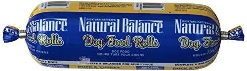 Dick Van Patten's Natural Balance® Duck and Turkey Formula Dog Food Roll, 4-Ounce (Formula Dog Food Roll)