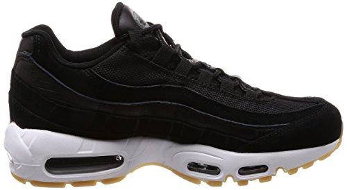 Nike Men's Air Max 95 PRM, Black/Black-Dark Grey-White Black