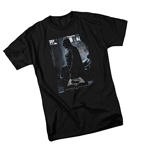 Batman Poster -- Batman v Superman: Dawn Of Justice Adult T-Shirt, -
