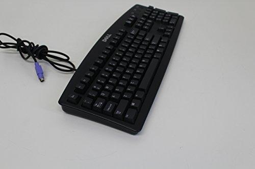 PC 104 Key RT7D20 DELL BLACK Keyboard PS/2 Quiet Key 04N454