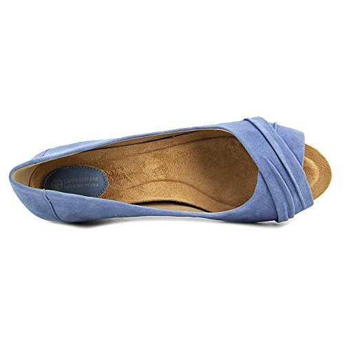 Peep Womens Bernini Wedge Toe Pumps Jeans Rivey Vintage Giani Leather qfITAn45ww