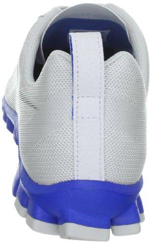 Reebok REALFLEX SCREAM - Zapatillas de tela hombre gris - Grau (SALTY GREY/FLAT GREY)