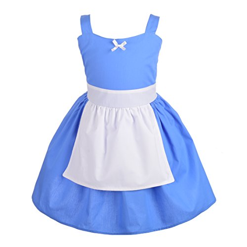 - Dressy Daisy Alice in Wonderland Alice Dress with Apron Summer Dresses for Toddler Size 4T
