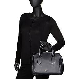 Vince Camuto Lenix Leather Shoulder Bag Tan