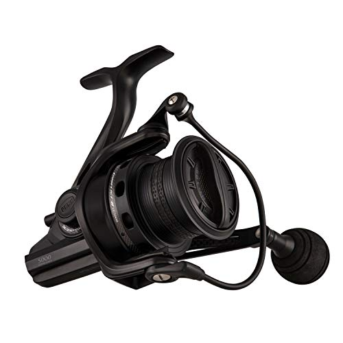 "Penn 1481283 Conflict Ii Long Cast Spinning Saltwater Reel, 5000 Reel Size, 4.8: 1 Gear Ratio, 36"" Retreieve Rate, 8 Bearings, Ambidextrous"