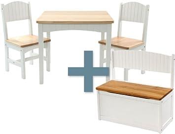 Ib Style 4 Teilige Kindersitzgruppe Trisha Xxl Weiss