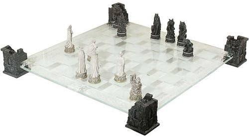 Juego de ajedrez vampiros vs hombres lobo con tabla y tramado.: Amazon.es: Juguetes y juegos