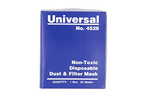 Universal 4528 Non-Toxic Disposable Dust & Filter Safety Masks (1000 Count Case) by Universal Sewing (Image #4)