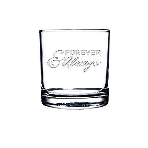 Etched Scotch Glass,Personalized Rocks Glass, Custom Whiskey Glass, Engraved Bourbon Glass, Love Quote scotch Glasses