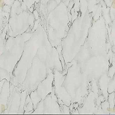 "45 Self Adhesive White MARBLE 12"" X 12"" Vinyl Flooring Tiles"