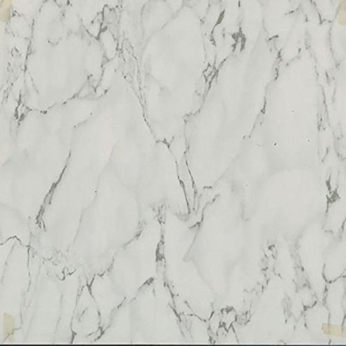 45 Self Adhesive White Marble 12