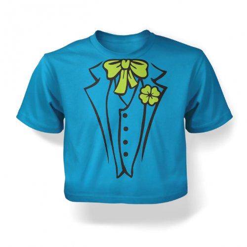Infant Leprechaun Costumes (Leprechaun Costume Baby T-shirt - Turquoise 24-36 Months)