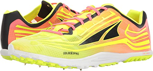 Altra Footwear Unisex Golden Spike Lime/Pink 14 Women / 12.5 Men M US