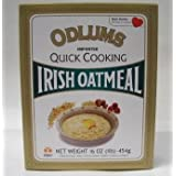 ODLUMS オドラムズ クイックオートミール 454g IRIH OATMEAL(Quick cooking)
